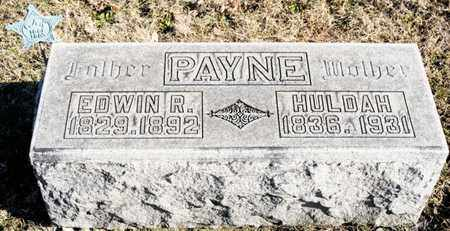 PAYNE, HULDAH - Richland County, Ohio | HULDAH PAYNE - Ohio Gravestone Photos