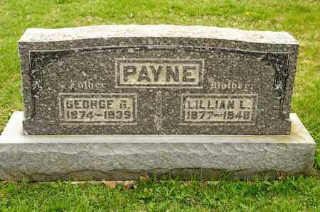 PAYNE, LILLIAN L - Richland County, Ohio | LILLIAN L PAYNE - Ohio Gravestone Photos