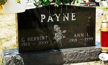 PAYNE, G HERBERT - Richland County, Ohio | G HERBERT PAYNE - Ohio Gravestone Photos