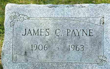 PAYNE, JAMES C - Richland County, Ohio | JAMES C PAYNE - Ohio Gravestone Photos
