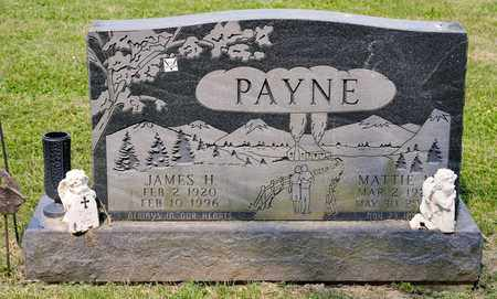 PAYNE, MATTIE M - Richland County, Ohio | MATTIE M PAYNE - Ohio Gravestone Photos