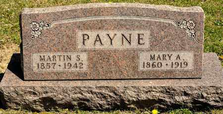 PAYNE, MARY A - Richland County, Ohio | MARY A PAYNE - Ohio Gravestone Photos