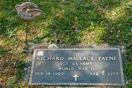 PAYNE, RICHARD WALLACE - Richland County, Ohio | RICHARD WALLACE PAYNE - Ohio Gravestone Photos