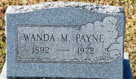 PAYNE, WANDA M - Richland County, Ohio | WANDA M PAYNE - Ohio Gravestone Photos