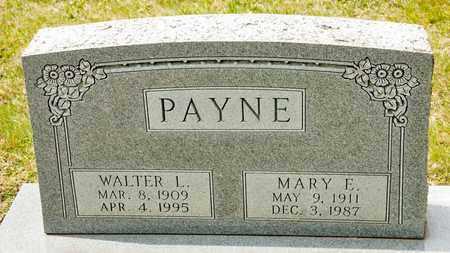 PAYNE, MARY E - Richland County, Ohio | MARY E PAYNE - Ohio Gravestone Photos