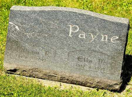 PAYNE, WILLIAM R - Richland County, Ohio | WILLIAM R PAYNE - Ohio Gravestone Photos