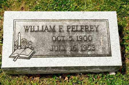 PELFREY, WILLIAM F - Richland County, Ohio | WILLIAM F PELFREY - Ohio Gravestone Photos