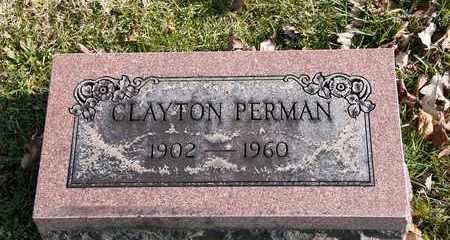 PERMAN, CLAYTON - Richland County, Ohio | CLAYTON PERMAN - Ohio Gravestone Photos