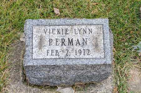PERMAN, VICKIE LYNN - Richland County, Ohio | VICKIE LYNN PERMAN - Ohio Gravestone Photos