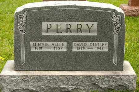 PERRY, DAVID DUDLEY - Richland County, Ohio | DAVID DUDLEY PERRY - Ohio Gravestone Photos
