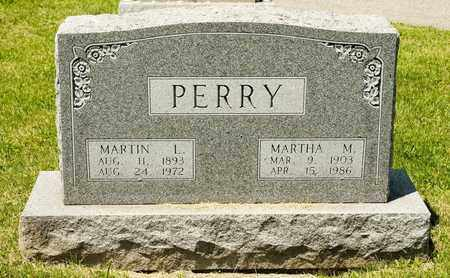 PERRY, MARTHA M - Richland County, Ohio | MARTHA M PERRY - Ohio Gravestone Photos