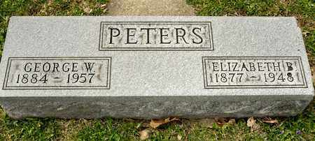 PETERS, ELIZABETH B - Richland County, Ohio | ELIZABETH B PETERS - Ohio Gravestone Photos