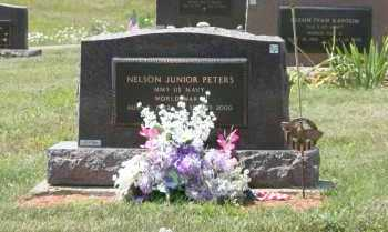 PETERS, NELSON JUNIOR - Richland County, Ohio | NELSON JUNIOR PETERS - Ohio Gravestone Photos