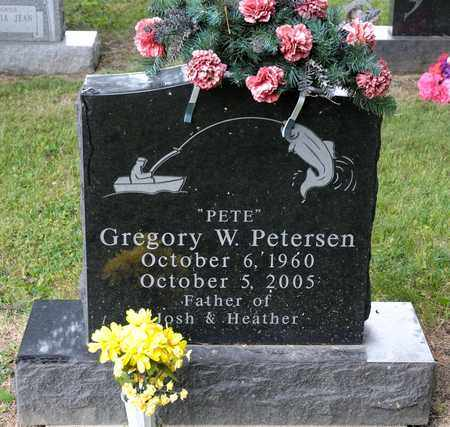 "PETERSEN, GREGORY W ""PETE"" - Richland County, Ohio 