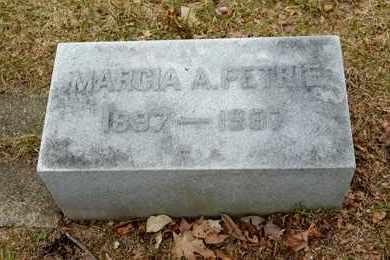 PETRIE, MARCIA A - Richland County, Ohio | MARCIA A PETRIE - Ohio Gravestone Photos