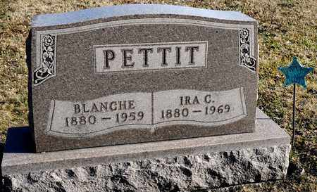 PETTIT, BLANCHE - Richland County, Ohio | BLANCHE PETTIT - Ohio Gravestone Photos