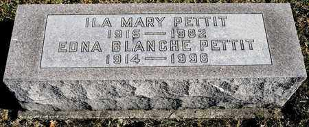 PETTIT, ILA MARY - Richland County, Ohio | ILA MARY PETTIT - Ohio Gravestone Photos