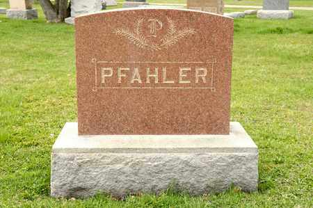 PFAHLER, VIRGINIA E - Richland County, Ohio | VIRGINIA E PFAHLER - Ohio Gravestone Photos