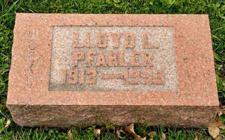 PFAHLER, LLOYD L - Richland County, Ohio | LLOYD L PFAHLER - Ohio Gravestone Photos