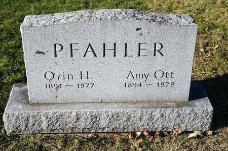 PFAHLER, AMY - Richland County, Ohio | AMY PFAHLER - Ohio Gravestone Photos