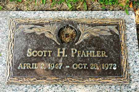 PFAHLER, SCOTT H - Richland County, Ohio | SCOTT H PFAHLER - Ohio Gravestone Photos