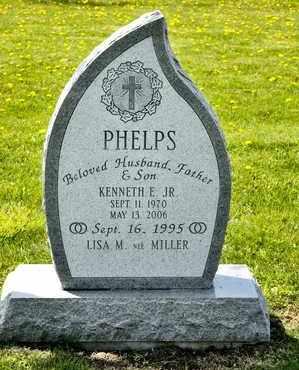 PHELPS JR, KENNETH E - Richland County, Ohio | KENNETH E PHELPS JR - Ohio Gravestone Photos