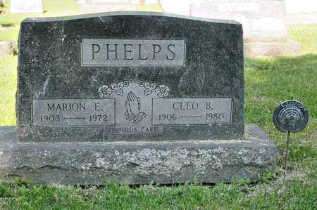 PHELPS, MARION E - Richland County, Ohio | MARION E PHELPS - Ohio Gravestone Photos