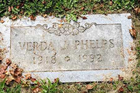 PHELPS, VERDA J - Richland County, Ohio | VERDA J PHELPS - Ohio Gravestone Photos