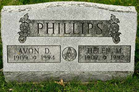 PHILLIPS, AVON D - Richland County, Ohio | AVON D PHILLIPS - Ohio Gravestone Photos