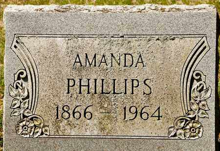 PHILLIPS, AMANDA - Richland County, Ohio | AMANDA PHILLIPS - Ohio Gravestone Photos
