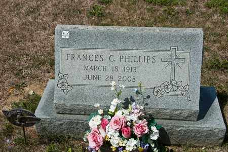 PHILLIPS, FRANCES C - Richland County, Ohio | FRANCES C PHILLIPS - Ohio Gravestone Photos