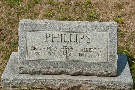 PHILLIPS, GERMAINE R - Richland County, Ohio | GERMAINE R PHILLIPS - Ohio Gravestone Photos