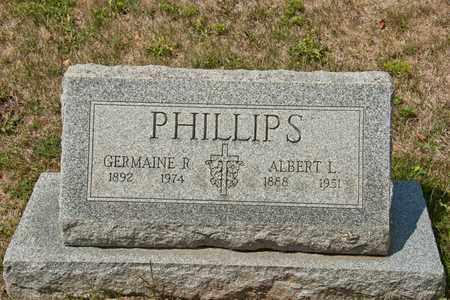 PHILLIPS, ALBERT L - Richland County, Ohio | ALBERT L PHILLIPS - Ohio Gravestone Photos