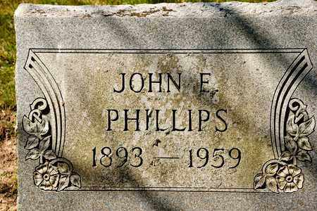 PHILLIPS, JOHN E - Richland County, Ohio | JOHN E PHILLIPS - Ohio Gravestone Photos