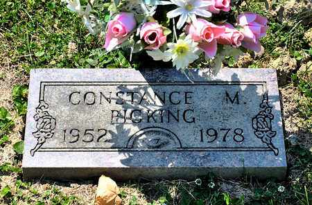 PICKING, CONSTANCE M - Richland County, Ohio | CONSTANCE M PICKING - Ohio Gravestone Photos