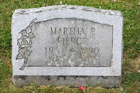 PIERCE, MARTHA P - Richland County, Ohio | MARTHA P PIERCE - Ohio Gravestone Photos