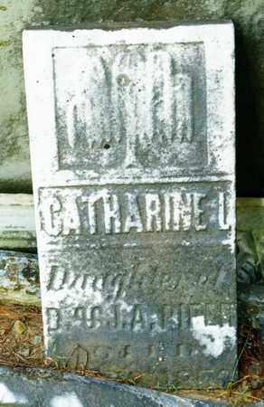 PIFER, CATHARINE L - Richland County, Ohio | CATHARINE L PIFER - Ohio Gravestone Photos