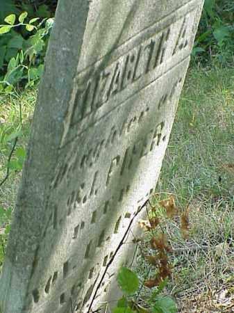 PIFER, ELIZABETH A. - Richland County, Ohio   ELIZABETH A. PIFER - Ohio Gravestone Photos