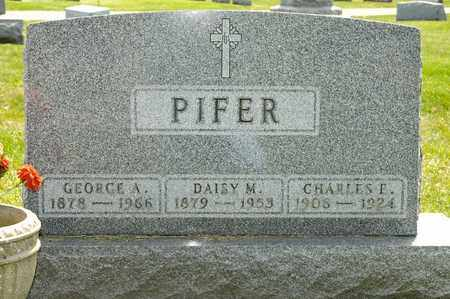 PIFER, GEORGE A - Richland County, Ohio | GEORGE A PIFER - Ohio Gravestone Photos