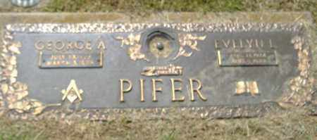 PIFER, GEORGE A. - Richland County, Ohio | GEORGE A. PIFER - Ohio Gravestone Photos