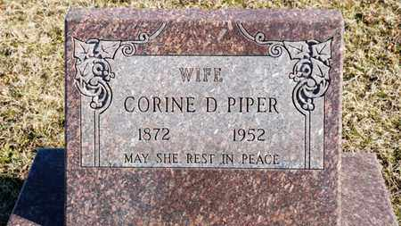 PIPER, CORINE D - Richland County, Ohio | CORINE D PIPER - Ohio Gravestone Photos