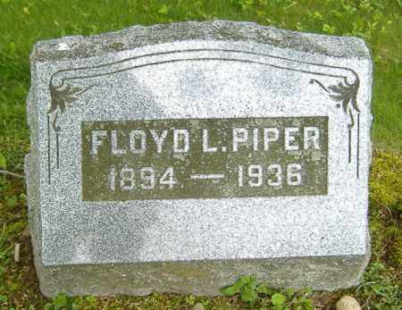 PIPER, FLOYD LEROY - Richland County, Ohio | FLOYD LEROY PIPER - Ohio Gravestone Photos
