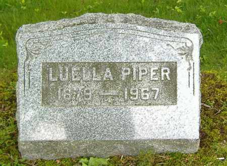 PIPER, LUELLA - Richland County, Ohio | LUELLA PIPER - Ohio Gravestone Photos