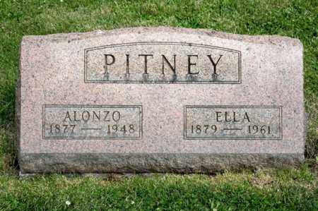PITNEY, ALONZO - Richland County, Ohio | ALONZO PITNEY - Ohio Gravestone Photos