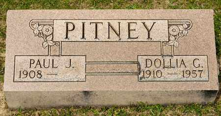 PITNEY, DOLLIA G - Richland County, Ohio | DOLLIA G PITNEY - Ohio Gravestone Photos