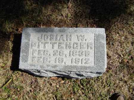 PITTENGER, JOSIAH W. - Richland County, Ohio | JOSIAH W. PITTENGER - Ohio Gravestone Photos