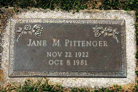 PITTENGER, JANE M - Richland County, Ohio | JANE M PITTENGER - Ohio Gravestone Photos