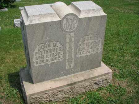 PITTENGER, JOHN M - Richland County, Ohio | JOHN M PITTENGER - Ohio Gravestone Photos