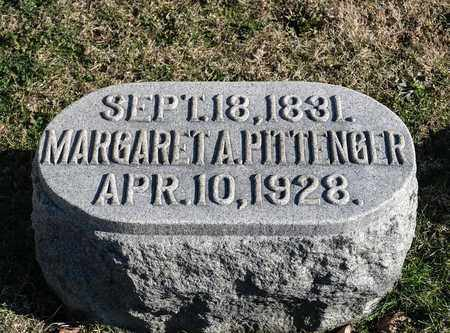 PITTENGER, MARGARET A - Richland County, Ohio | MARGARET A PITTENGER - Ohio Gravestone Photos