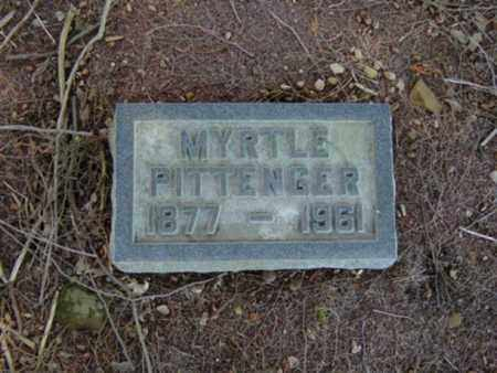 PITTENGER, MYRTLE - Richland County, Ohio | MYRTLE PITTENGER - Ohio Gravestone Photos
